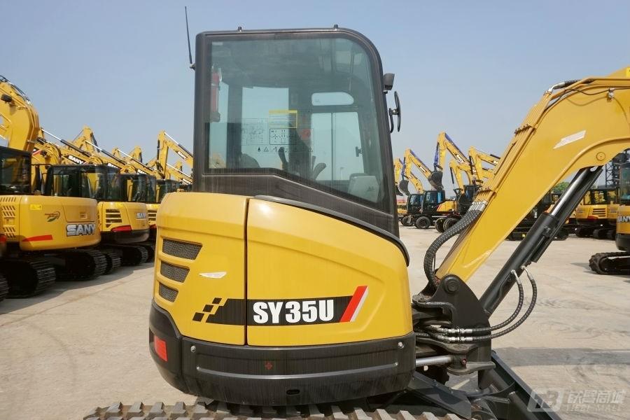 三一SY35U微型挖掘机