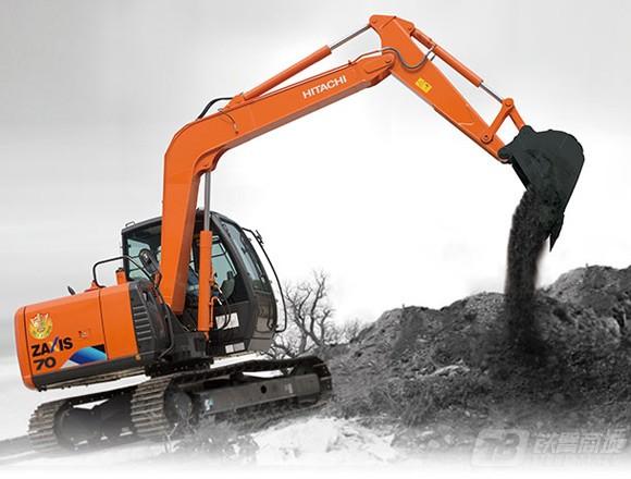 日立ZX70-5A小型挖掘机