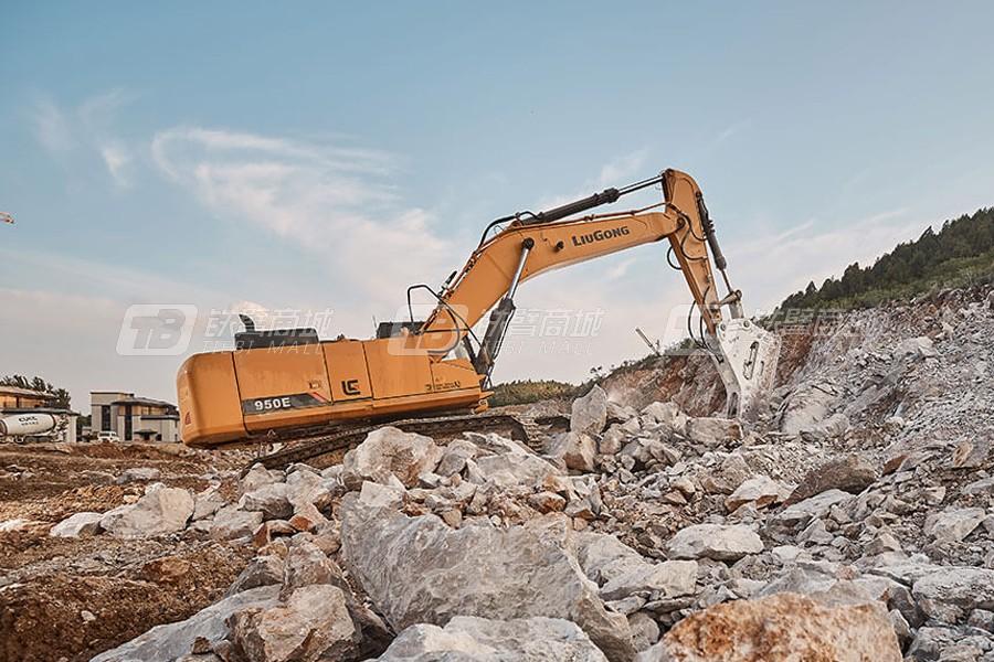 柳工950E挖掘机