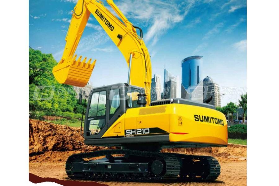 住友SH210-6挖掘机