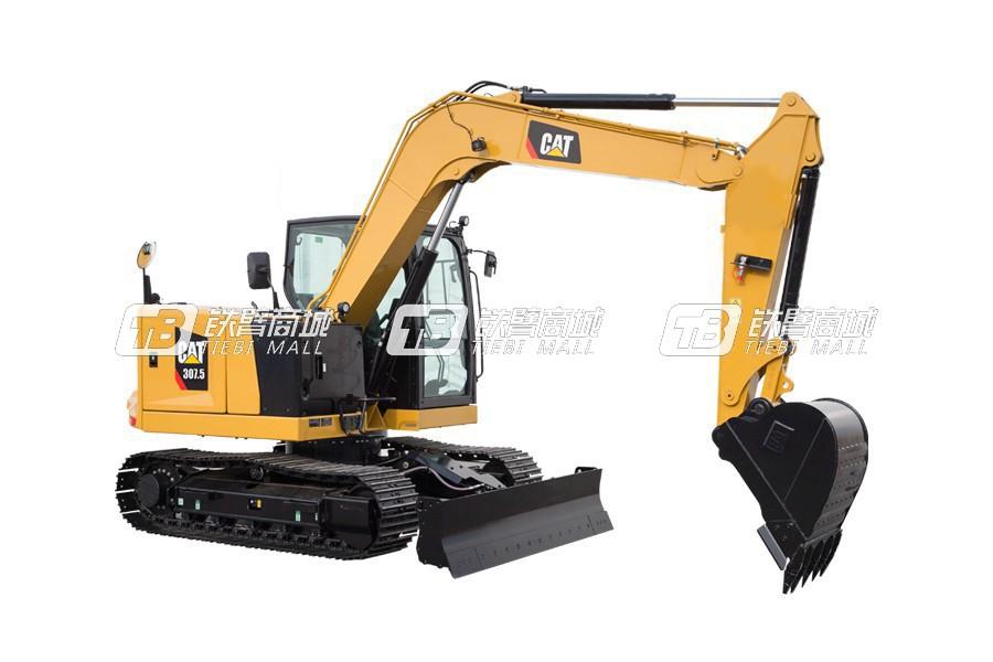 卡特彼勒新一代CAT® 307.5小型液压挖掘机