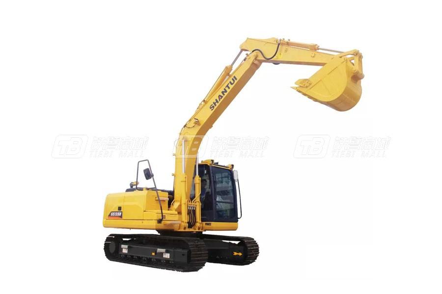 山重建机SHANTUISE135-9W(配潍柴发动机版)履带挖掘机