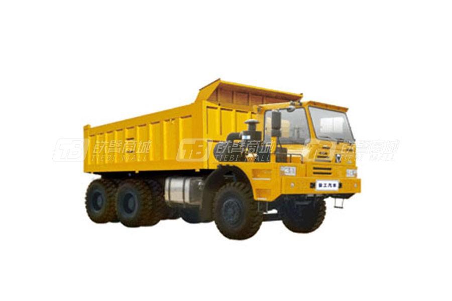 徐工TFW111偏置驾驶室平台6X4矿用自卸车65吨