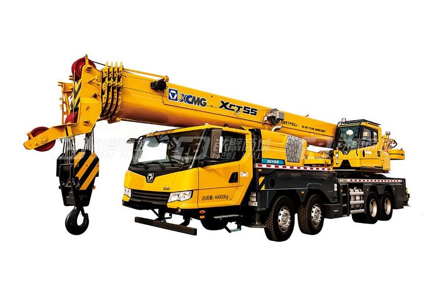 徐工XCT55L5汽车起重机
