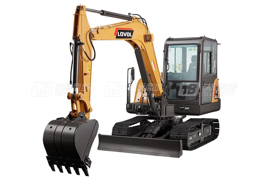雷沃重工FR60E2-H履带挖掘机(小挖)