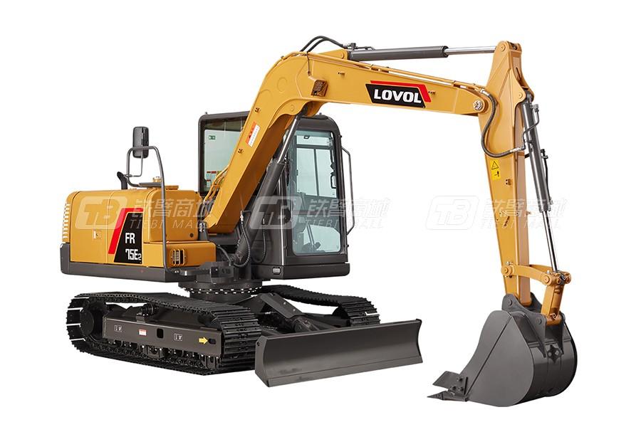 雷沃重工FR75E2履带挖掘机(小挖)