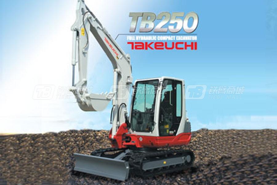 竹内TB250履带挖掘机