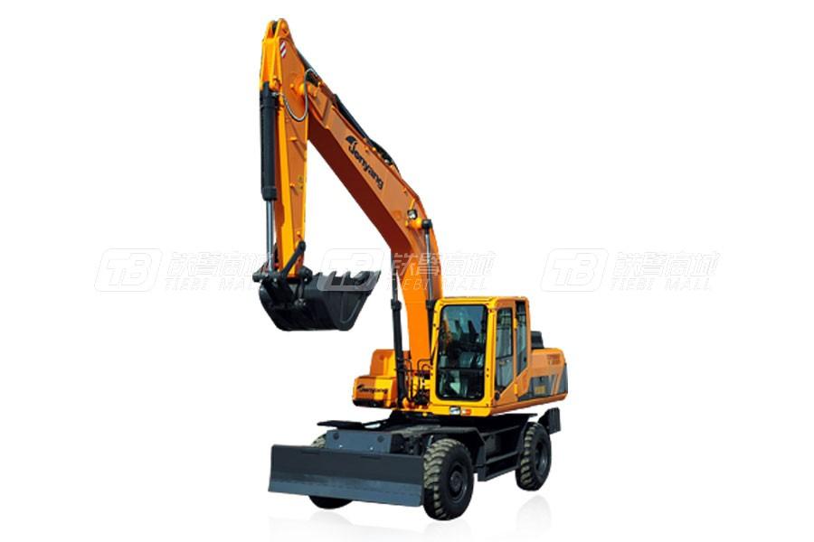 詹阳重工JYL621E轮胎式挖掘机