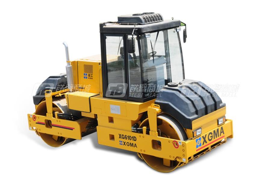 厦工XG6101D双钢轮压路机