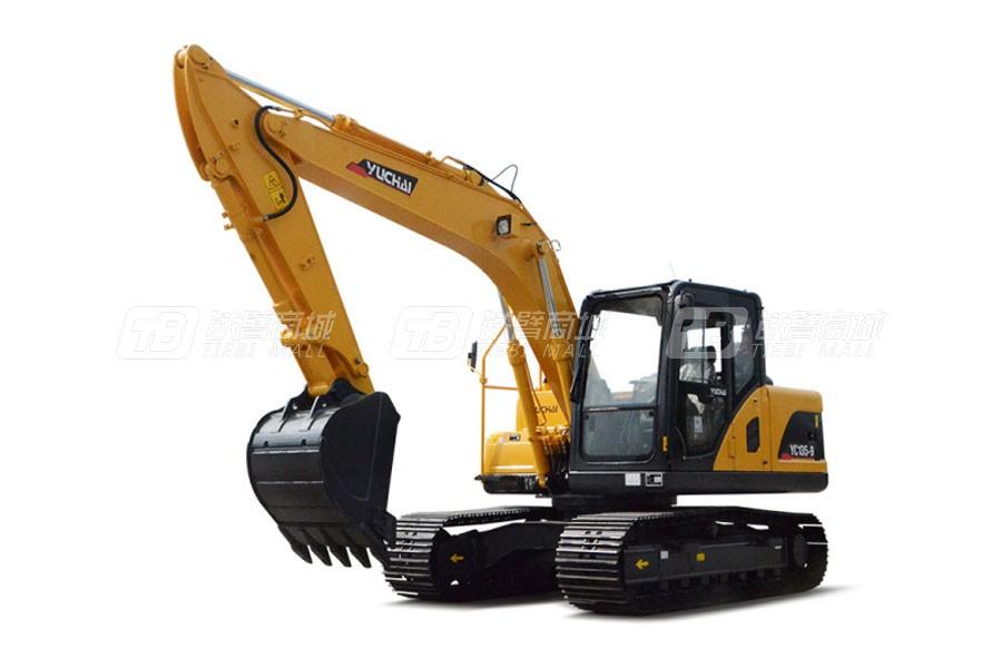 玉柴YC135-9履带挖掘机