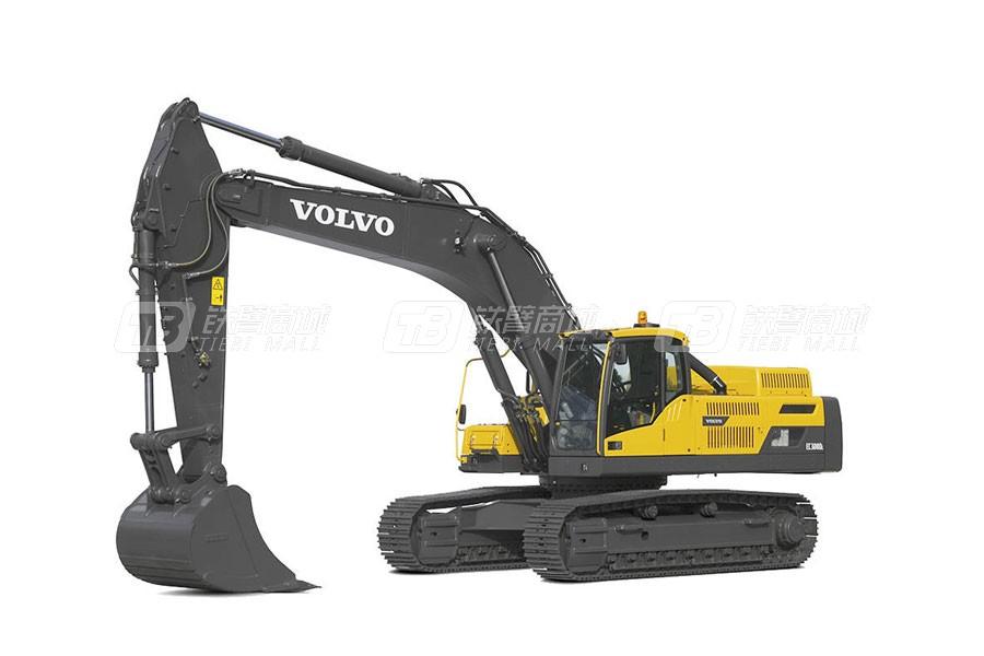 沃尔沃EC350DL大型履带挖掘机