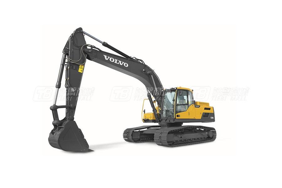 沃尔沃EC250D大型履带式挖掘机