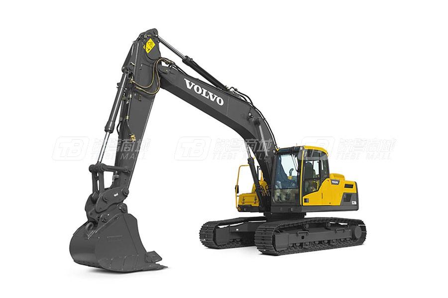 沃尔沃EC220D中型履带式挖掘机