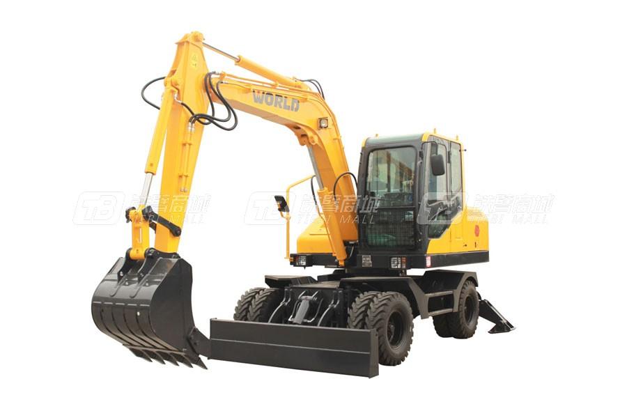 沃得重工W285W-9轮式挖掘机