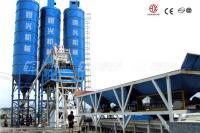 恒兴机械HZS50T快装式混凝土搅拌设备(公路型)