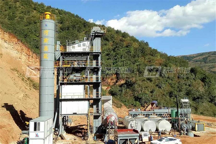 河南鑫筑XZ2000X强制式沥青混合料搅拌设备