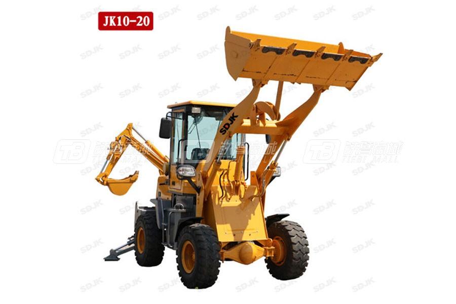 捷克机械JK10-20两头忙挖掘装载机