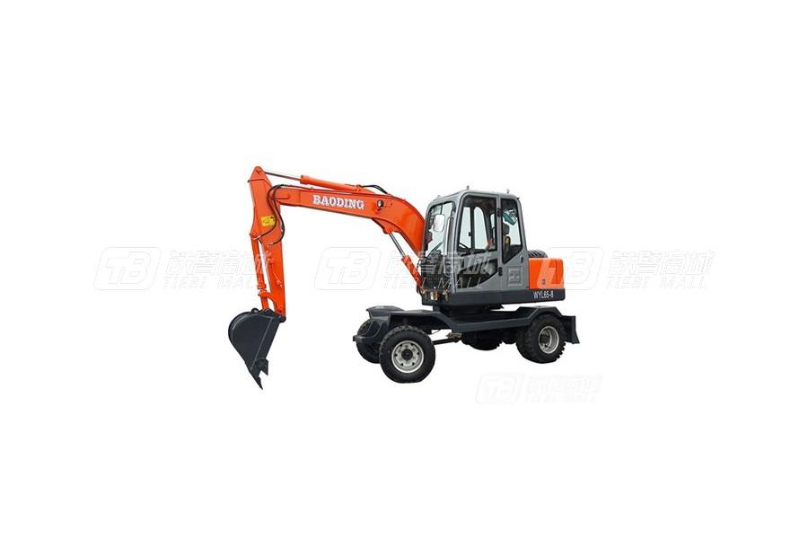 宝鼎WYL65轮式挖掘机