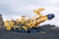 石煤EBZ160T物探掘进机