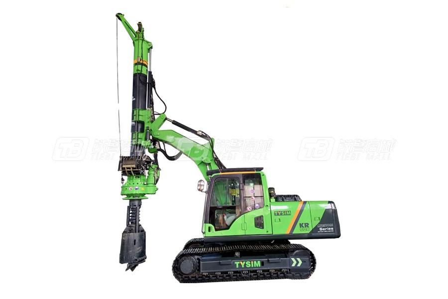 泰信机械KR50挖机改制旋挖