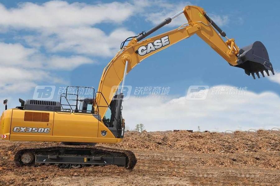 凯斯CX350C大型履带挖掘机