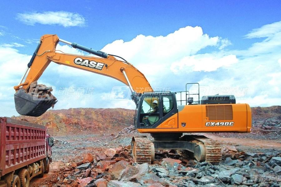凯斯CX490C大型履带挖掘机