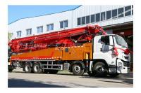 青岛科尼乐KNL5420THB58X-6RZ重庆五十铃58米混凝土泵