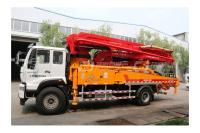 青岛科尼乐KNL5203THB 37X-5RZ重汽豪沃37米混凝土泵车