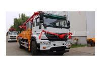 青岛科尼乐KNL5350THB44X-5RZ重汽44米汕德卡混凝土泵