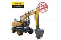 金旺机械JW-75L轮式挖掘机