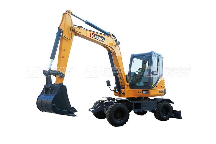 徐工XE60WD轮式挖掘机