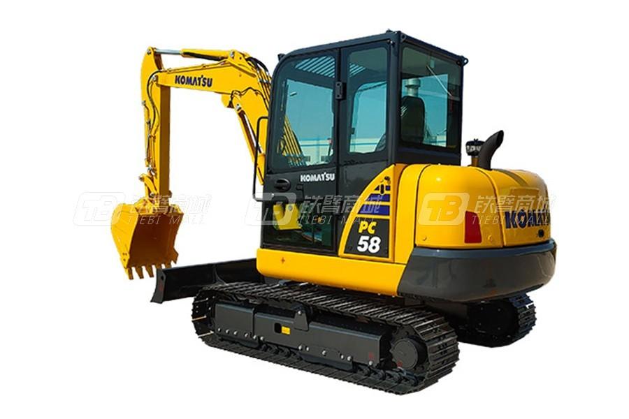 小松PC58-8履带挖掘机