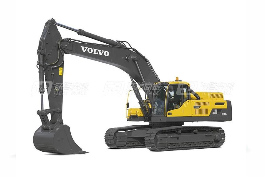 沃尔沃EC380DL大型履带式挖掘机