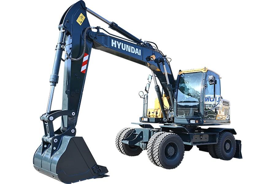 现代R150WVS PRO轮式挖掘机