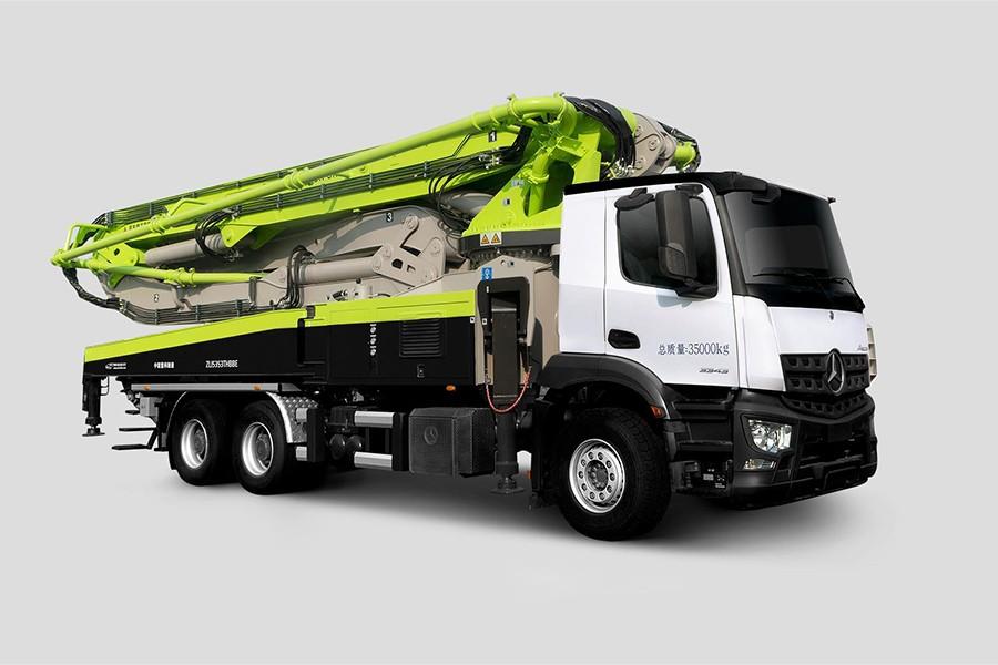 中联重科ZLJ5350THBKF 49X-6RZ混凝土泵车