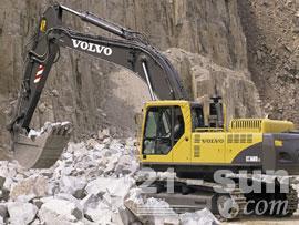 沃尔沃EC360B挖掘机