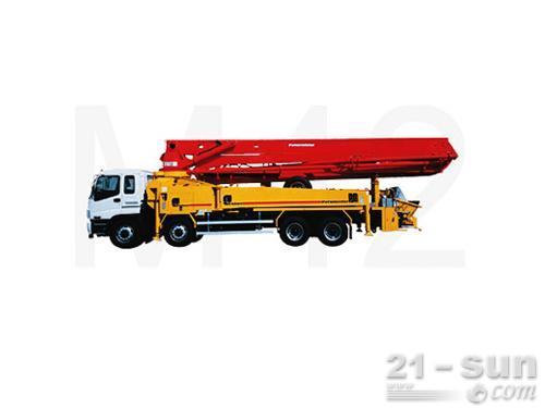 普茨迈斯特M 42-4混凝土泵车