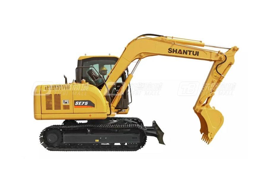 山推SE75-9A(国产化配置版)履带挖掘机