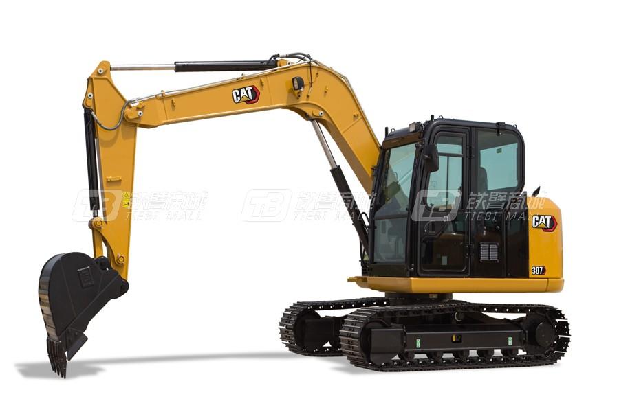 卡特彼勒新一代CAT<sup>®</sup>307小型液压挖掘机