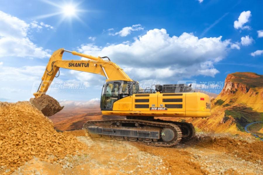 山推SE500LC-9(标配版)履带挖掘机
