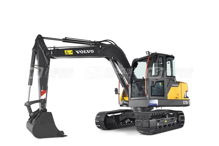 沃尔沃EC75D小型挖掘机