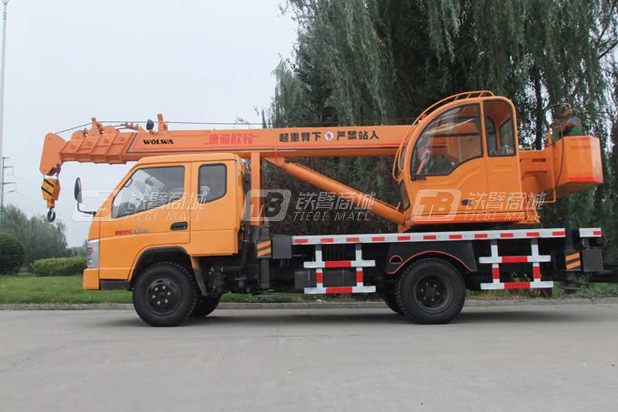 沃尔华GNQY-3500(8吨)汽车起重机