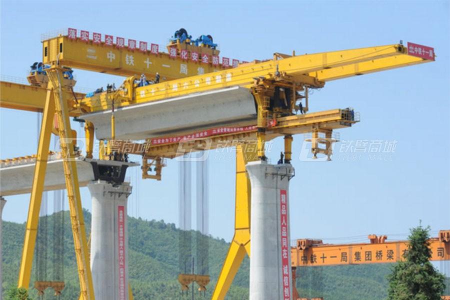 华中建机THQ900过隧道架桥机