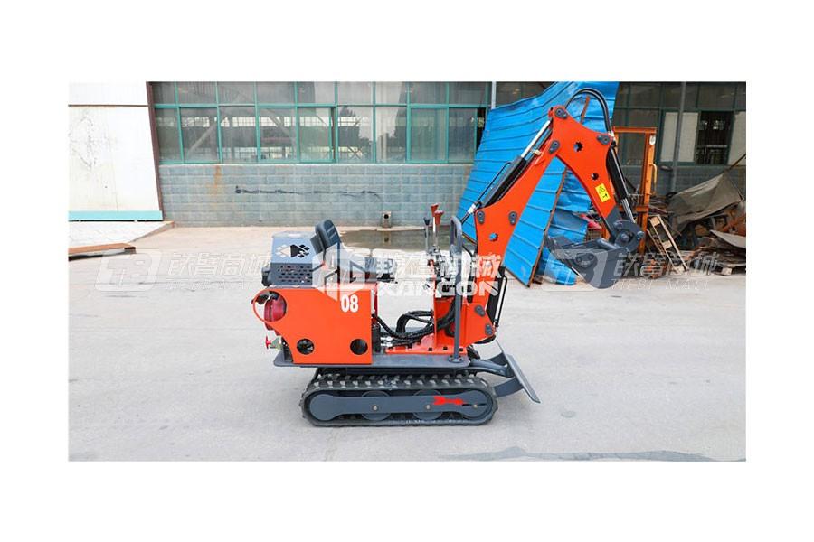 山东翔工XG08型履带式小型挖掘机