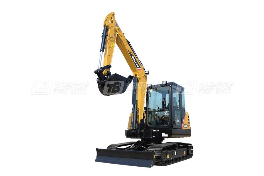 三一SY60C小型挖掘机
