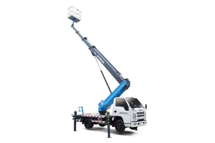 星邦重工GKS22L22米伸缩臂高空作业车