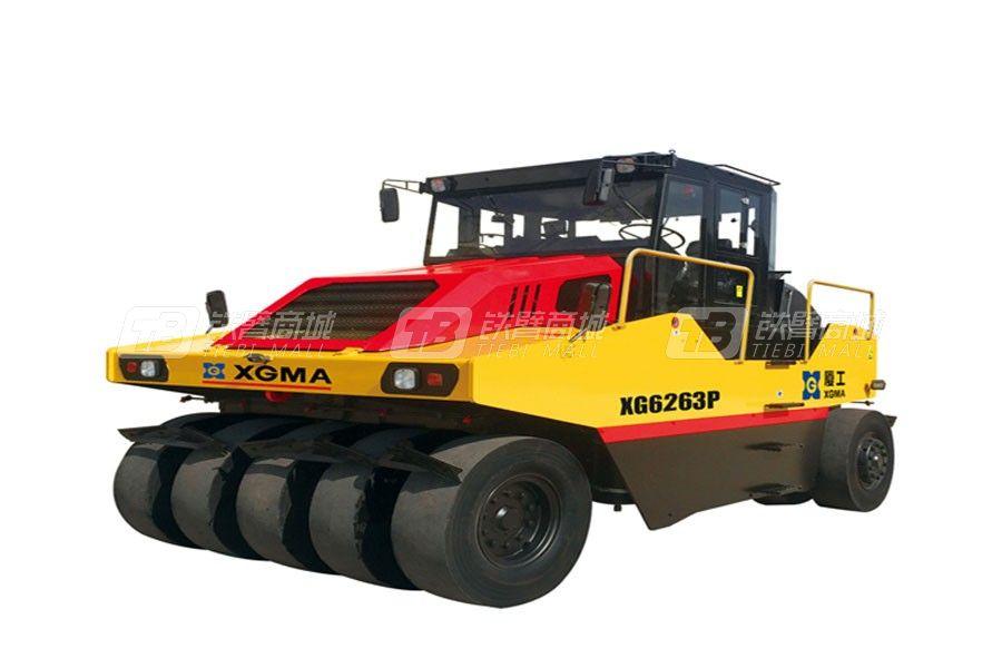 厦工XG6263P轮胎压路机