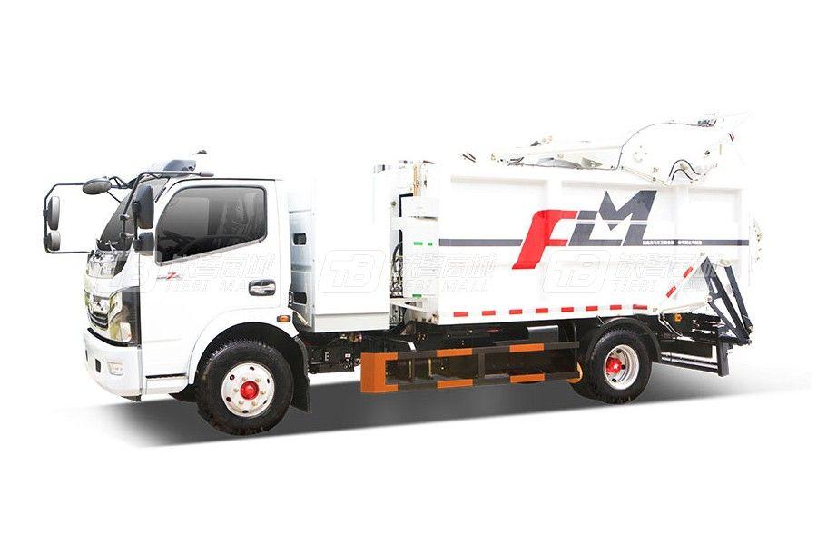 福龙马FLM5080ZYSDGBEVGW纯电动压缩式垃圾车