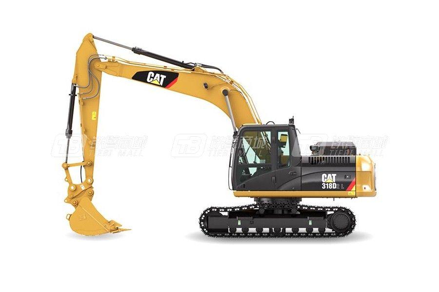卡特彼勒318D2 L小型液压挖掘机