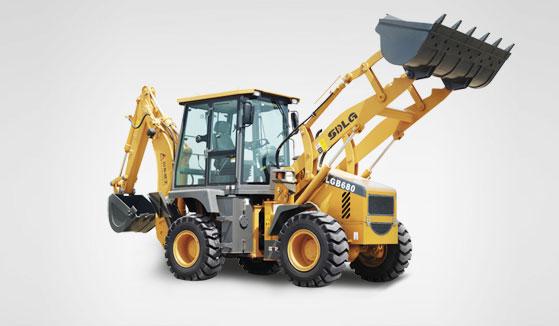 临工LGB680挖掘装载机